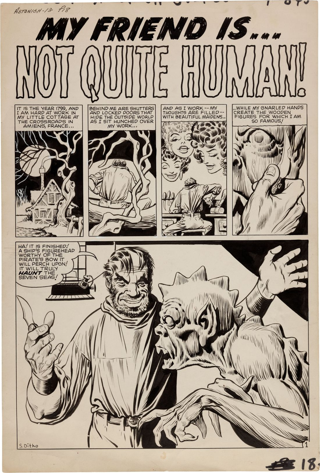 original-comic-art-steve-ditko-tales-to-astonish-13